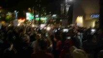 Cientos de manifestantes desafían el toque de queda en Charlotte (EEUU)