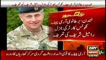 British Army Chief Nicholas Carter praises General Raheel Sharif