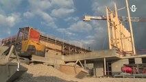 Avancement Des Travaux Au Pont De Gambsheim Video Dailymotion