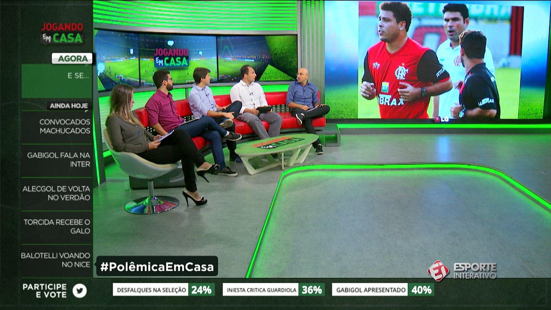 VSR: 'Se o Ronaldo tivesse ido para o Flamengo, o Fla não teria sido campeão em 2009'