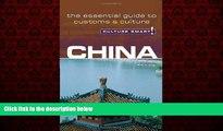 Free [PDF] Downlaod  China - Culture Smart!: the essential guide to customs   culture  FREE BOOOK