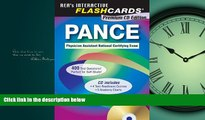For you PANCE (Physician Assistant Nat. Cert Exam) Flashcard Book w/CD-ROM (PANCE Test Preparation)