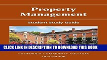 [PDF] Property Management: Student Study Guide (The Real Estate Education Ceter) Full Colection