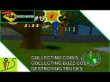 Collecting Coins, Collecting Buzz Cola, Destroying Trucks - The Simpsons Hit & Run - Part 11