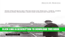 [PDF] The Frankfurt Auschwitz Trial, 1963-1965: Genocide, History, and the Limits of the Law