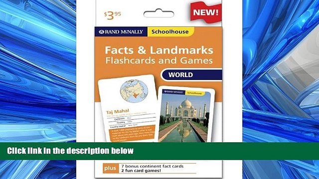 Enjoyed Read Rand Mcnally Schoolhouse World Facts   Landmarks Flashcards And Games