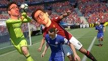 FIFA 17 en version finale se découvre avec Julo et Plume