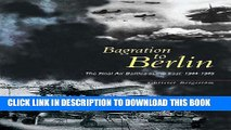 [PDF] Bagration to Berlin: The Final Air Battles in the East 1944-1945 Full Online