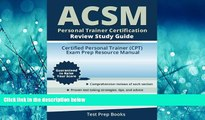Popular Book ACSM Personal Trainer Certification Review Study Guide: Certified Personal Trainer