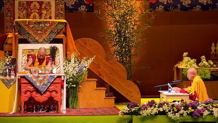Dalai Lama France 2016 - Enseignements préliminaires à l'initiation de Chenrézi