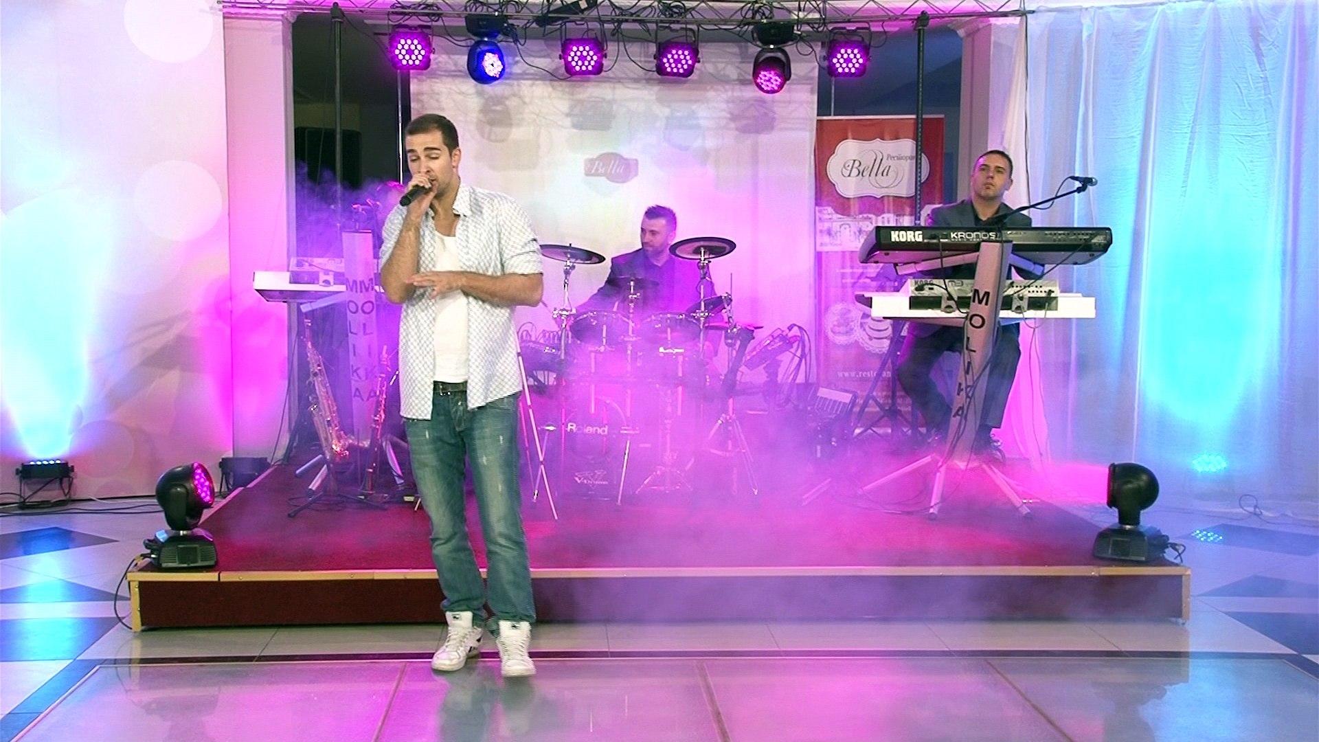 Gromovi na dusa - Viktor Apostolovski i Grupa Molika (Casa Ljubov Cover)