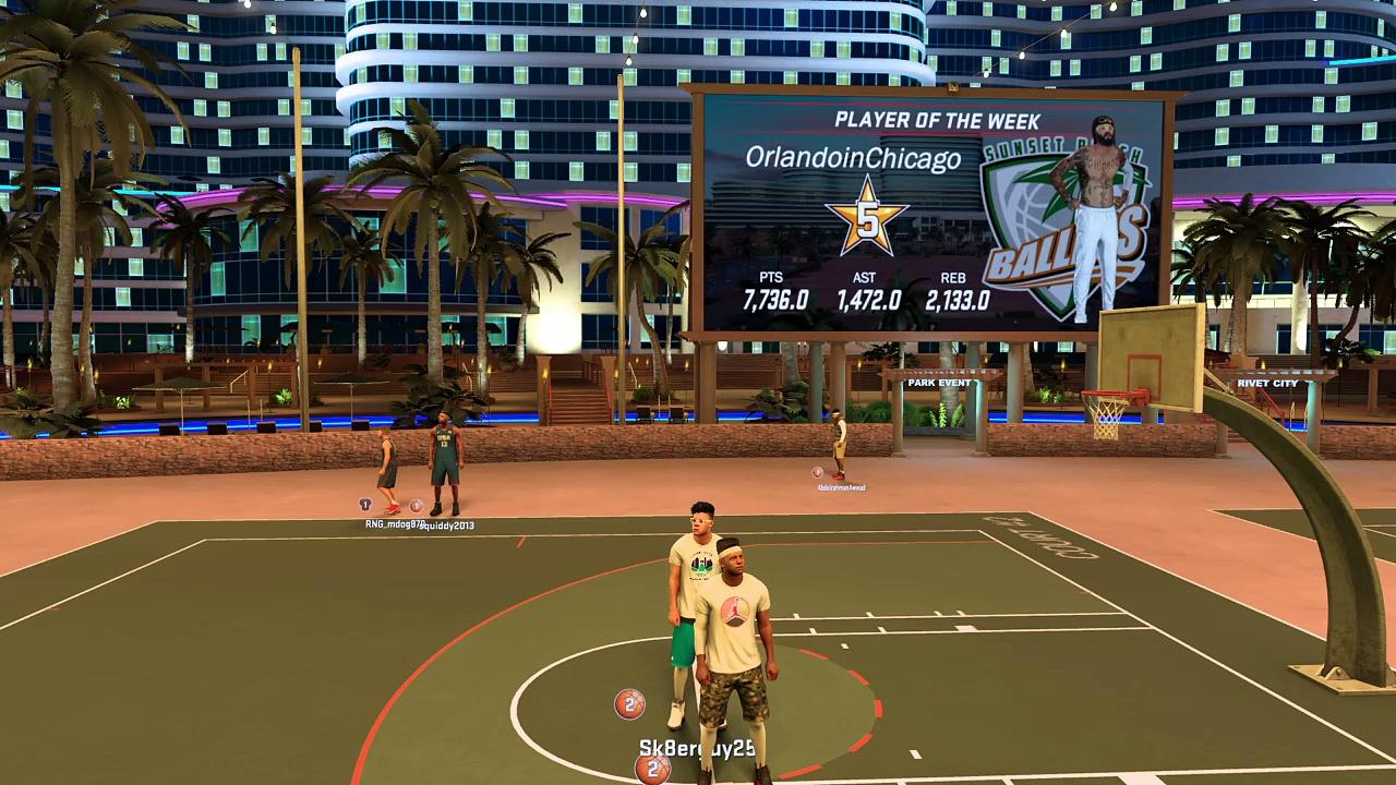 NBA 2K17 Highlights #3