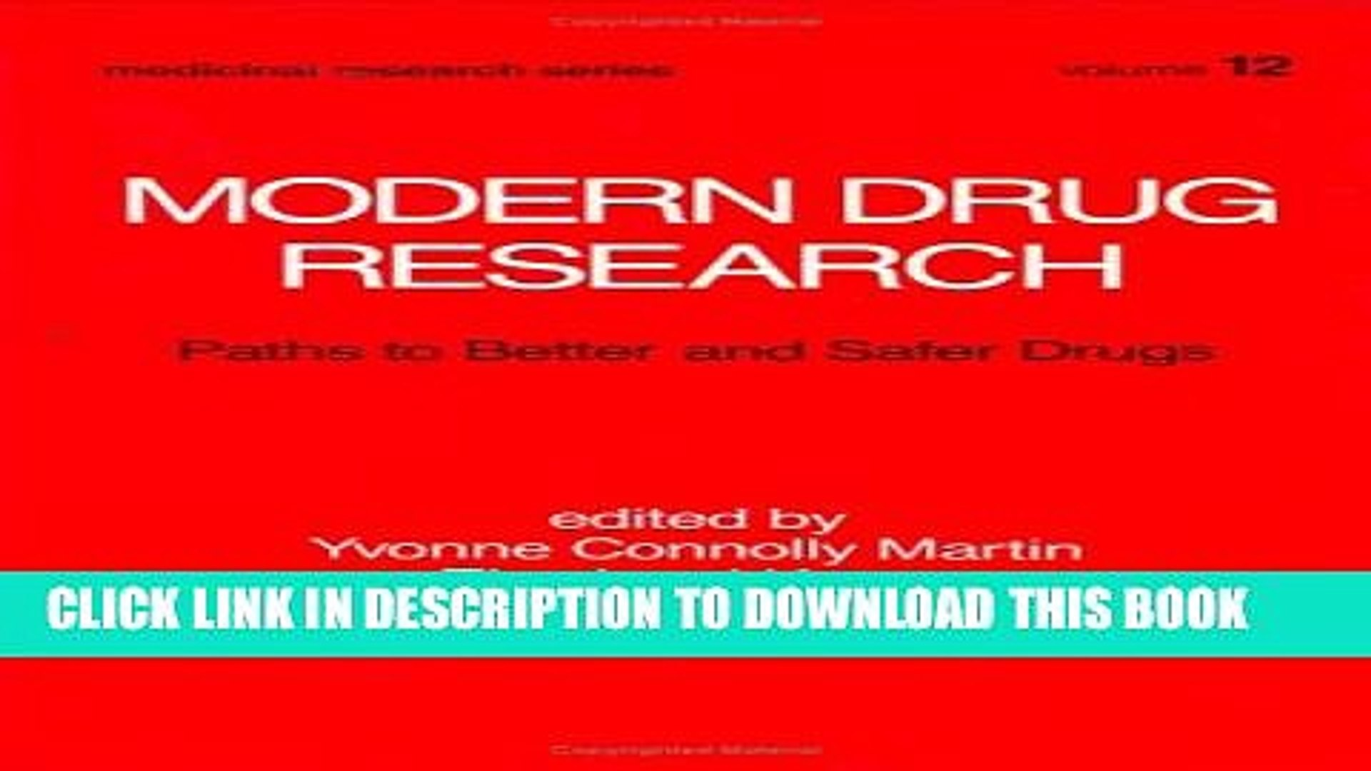 [PDF] Modern Drug Research: Path to Better and Safer Drugs Full Online[PDF] Modern Drug Research: