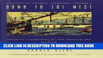 [Read PDF] Dawn to the West: A History of Japanese Literature: Dawn to the West: Japanese