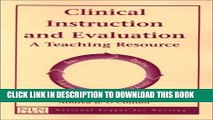 [PDF] Clinical Instruction and Evaluation: A Teaching Resource Full Online[PDF] Clinical