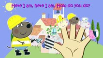 Peppa Pig Professions Finger Family Nursery Rhymes And More Lyrics