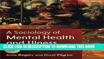 [PDF] A Sociology of Mental Health and Illness Full Online[PDF] A Sociology of Mental Health and