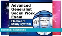 Big Deals  Advanced Generalist Social Work Exam Flashcard Study System: ASWB Test Practice