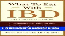 [Read PDF] What to Eat with IBD: A Comprehensive Nutrition and Recipe Guide for Crohn s Disease