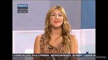 Top Fail Porto Canal - Debora Sá leva com o cenário na cabeça em directo 21/07/2015