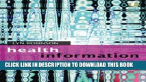 [PDF] Understanding Healthcare Information (Facet Publications (All Titles as Published)) Full