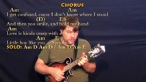 Spooky (Dusty Springfield) Mandolin Cover Lesson in Am with Chords-Lyrics