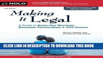 [PDF] Making it Legal: A Guide to Same-Sex Marriage, Domestic Partnerships   Civil Unions [Online