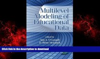 FAVORIT BOOK Multilevel Modeling of Educational Data (Quantitative Methods in Education and the