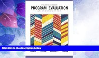 Big Deals  Program Evaluation: An Introduction (Research, Statistics,   Program Evaluation)  Free