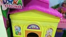 Dora the Explorer - Doras Explorer House Playset with Swiper & Shopkins Desserts!