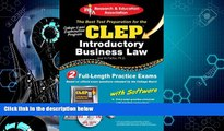 Must Have PDF  CLEP® Introductory Business Law with CD (CLEP Test Preparation)  Best Seller Books