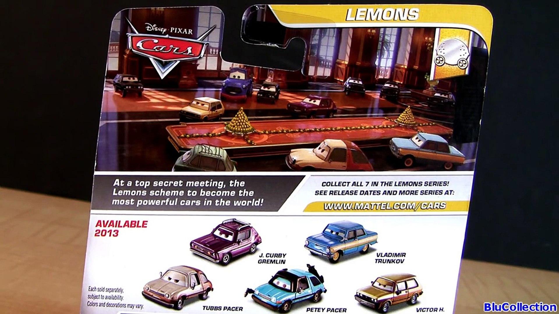 Cars 2 Tubbs Pacer Diecast new Lemons Series Mattel Disney Pixar toycar review AMC Pacer Family