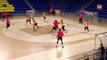 FCB Handbol: Xavi Pascual previa Wisla Plock-FCB Lassa  [ESP]