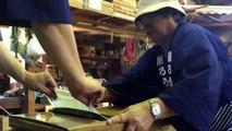 L'extrême travail des ouvriers japonais. Incroyable !