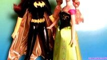 Princess Anna Dress Up BatGirl Halloween Costume BatWoman new Disney Frozen Superhero