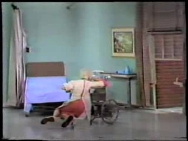 Carol Burnett Show outtakes - Tim Conway vs Wheelchair
