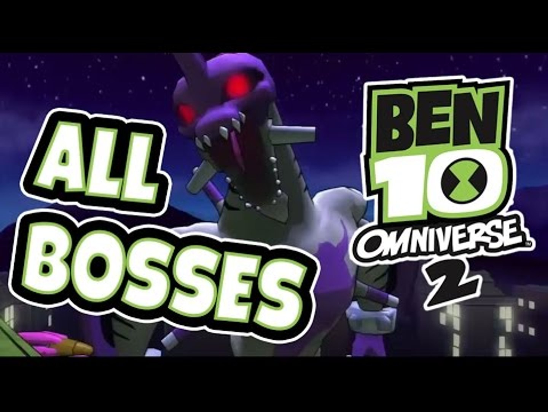 Ben 10 Omniverse 2 All Bosses | Boss Stages (PS3, X360, Wii, WiiU) Final Boss