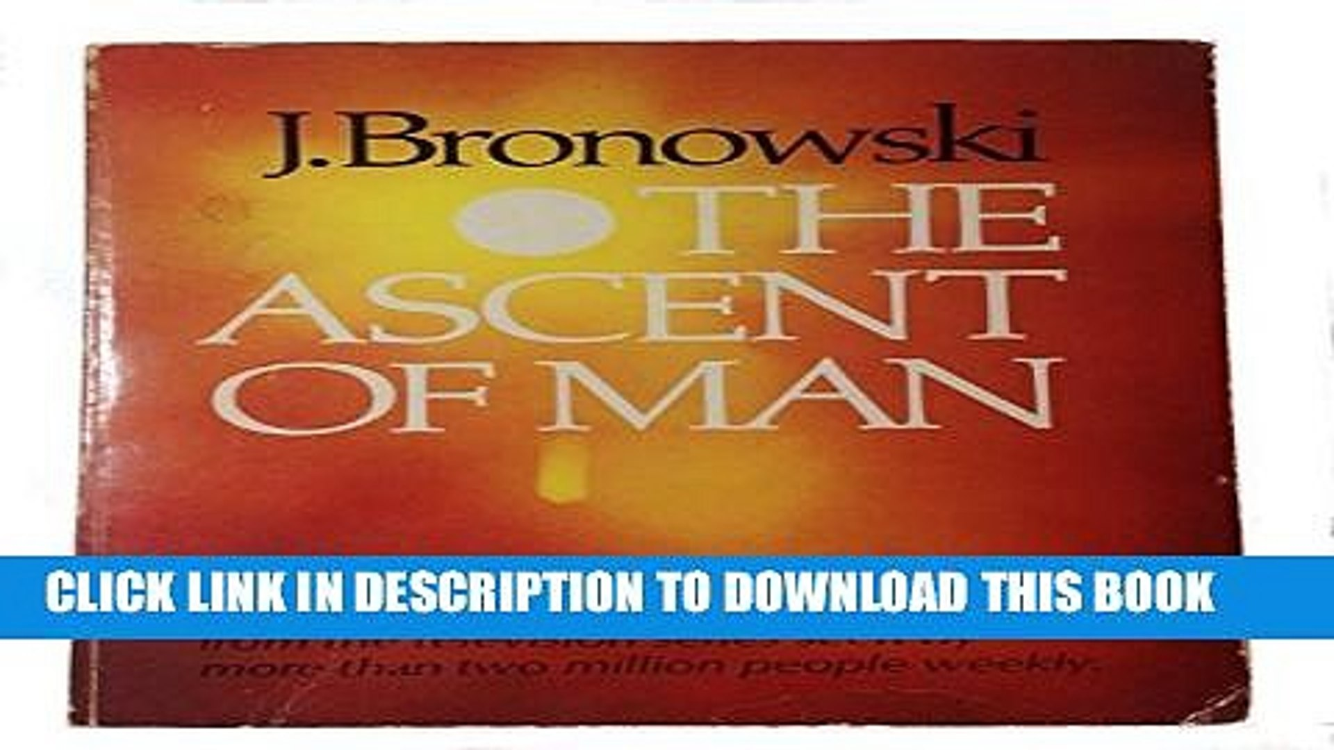Bronowski Ascent Of Man Pdf