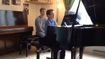 Masterclass de piano à l'école de musique