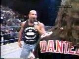 wcw Bret Hart &  Goldberg confrontation