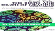 [PDF] The Birth and Death of Meaning: An Interdisciplinary Perspective on the Problem of Man Full