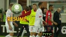 Gazélec FC Ajaccio - Nîmes Olympique (0-2)  - Résumé - (GFCA-NIMES) / 2016-17