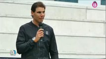 Rafa Nadal presents awards to winners of Rafa Nadal Tour 2016