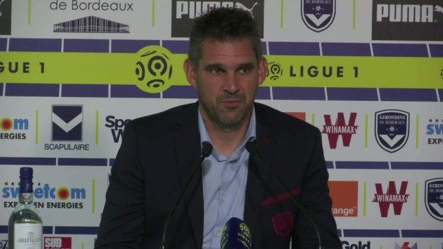 Foot - L1 - Bordeaux : Gourvennec «On a beaucoup tenté»
