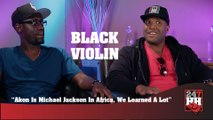 Black Violin - Akon Is Michael Jackson In Africa, We Learned A Lot (247HH Wild Tour Stories) (247HH Wild Tour Stories)