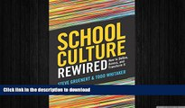 READ  School Culture Rewired: How to Define, Assess, and Transform It  BOOK ONLINE