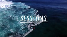Surfing XXL Cloudbreak from 'Mad Monday' in Fiji: Drone Footage   Sessions