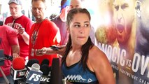 UFC 203: Jessica Eye Reflects on Passing of Her Father Before Bethe Correia Fight