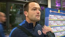 Geoffrey Jourdren après MHSC 0-1 FC Metz