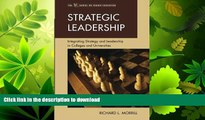 READ  Strategic Leadership: Integrating Strategy and Leadership in Colleges and Universities (The